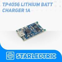TP4056 Charger Battery Micro usb Charging Modul 1A 5v dan Proteksi