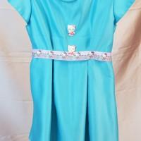 baju dress anak hello kitty/gaun pesta anak/mini dress anak