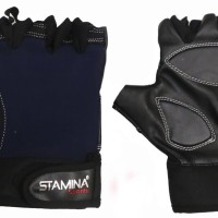 STAMINA SPORTS FITNESS GLOVES Men- Free Handuk Fitness (L)