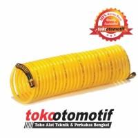 Recoil Hose With Spring / Selang Kompresor 6m