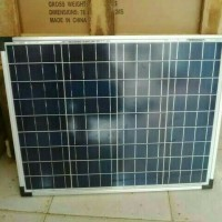 JUAL Solar Panel Solar Cell Panel Surya Dekade 50wp Poly