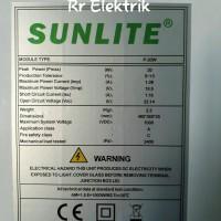 JUAL HARGA PROMO Solar Panel Solar Cell Panel Surya Sunlite 20wp Poly