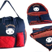 tas baby bag lengkap / tas peralatan bayi / tas selempa Diskon