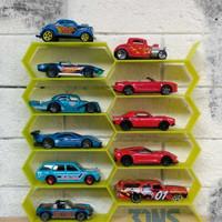Rak Hotwheels 3D Printing - Kuning Glow In The Dark