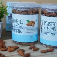 Kacang Almond Panggang Organic / Roasted Almond / Snack Sehat / Diet
