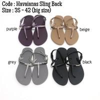 Sandal tali wanita - havaianas sling back