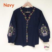 Harga promo baju boho murah bohemian style katun bordir putih | Hargalu.com