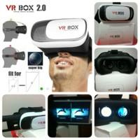 Virtual Reality Glasses VR Box Smartphone Lensa Kaca Mata - KEREN