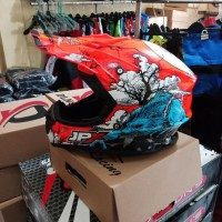 Helm cross fullface jpx not oneal,fox,airoh,kyt,suomy,cargloss,klx,tld