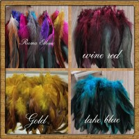 Bulu Ayam Jago, Cock Rooster Feathers Hair Extension