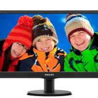 Monitor led philip 193V5LHSB-18.5 hdmi garansi resmi