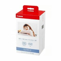 Canon Selphy KP108 Tinta Ribbon Kertas for Printer Canon Selphy -Resmi