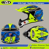 Helm KYT Strike Eagle, Cross, trabas, trail, mx, enduro, grasstrack