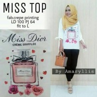 Grosir Busana Muslim / Baju Wanita / Baju Murah Terbaru / Miss Top