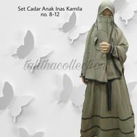 Gamis Cadar Anak Inas Kamila no. 8-12