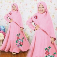 Hijab Anak Shania Dusty Umur 7 - 11 Tahun / Baju Muslim Anak