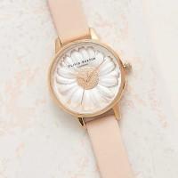 Jam Tangan Olivia Burton London Daisy 3D Pink Rose Gold
