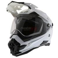 BEST SELLER Helm Cross Oneal Sierra Adventure Plain White HELMET O NE