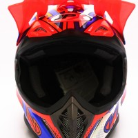 BEST SELLER HELM CROSS JPX MODEL AIROH MOTOCROSS RED BLUE WHITE