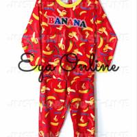 Harga piyama anak banana pakaian tidur anak gambar kartun | Pembandingharga.com