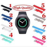 Strap Silikon untuk Smartwatch Samsung Gear S2 SM-R720/SM-R730