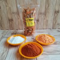 Basreng stick cimong asin, bbq, keju, pedas, pedas daun jeruk 75 gram