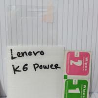 Tempered gorila glass kaca lenovo k6 power murah