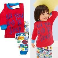 Piyama Anak/Baju Tidur Anak Lengan Panjang Baby Gap Hk  All  You Need