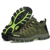 Sepatu Gunung/Hiking SNTA Waterproof - 470 Green