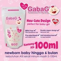 Jual #Set Peralatan Makan Bayi Kantong Asi Gabag BPA Free 30 pcs 100ml Murah