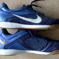 Sepatu Futsal Nike CTR360 Libretto II IC Original Blue White Orange