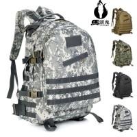 Tas Ransel 3D Militer Shoulder backpack bag tentara TNI OutDoor TBE