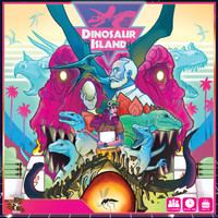 Dinosaur Island ( Original ) AKA Jurrasic Park The Board Game