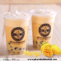 Mango Bubuk - Milkshake Powder Bubble Drink, Bubble Tea