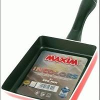 Alat Masak Anti Lengket Teflon Maxim 7 Inc Eggpan Bentuk Kotak Murah