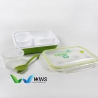 Lunch Box 4 Sekat Yooyee 415 - Kotak Bekal Makan Sup Bento Set