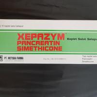 xepazym pancreatin simetikon per strip