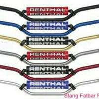 STANG FATBAR RENTHAL + BUSA CNC/ STANG RENTHAL CNC