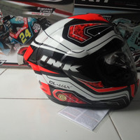 Helm Ink cl max clmax seri 5 Red Fluo