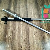 samurai tongkat rahasia / pedang katana BATON SWORD STAINLESS