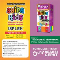 SYIFA KIDS ISPLEK   MADU ANAK ISPA PLEK PARU-PARU   100ml