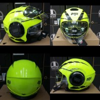 helm agv k3 fluid equalizer yellow fluo