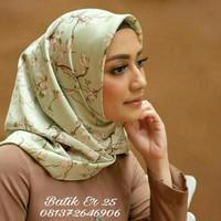 Hijab Maxmara Lux Premium   Segiempat Maxmara   Jilbab Maxmara motif