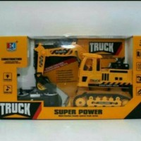 Mainan RC truck super power excavator