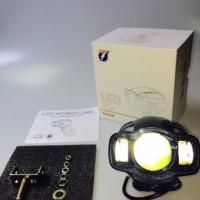 Dijual Lampu Sorot Tembak Motor Mobil Led Tembus Kabut Waterprof Rtd