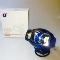 New! Lampu Sorot Tembak Motor Mobil Led Tembus Kabut Waterprof Rtd