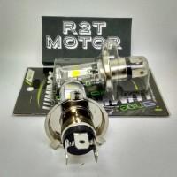 New! Lampu Led Motor Vixion Byson Cb150R R15 Tipe H4 Kuning Atau Putih