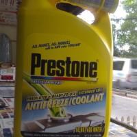Sale! Prestone Antifreeze Radiator Coolant - Galon 3.78 Ltr - 100%