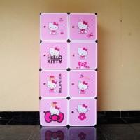 Jual 41-5 Rak 8 Susun Hello Kitty ( Pakaian Sandal Sepatu Mainan Anak