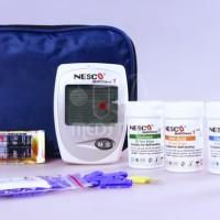Alat  Cek Gula Darah, Kolesterol, Asam Urat Nesco Multicheck GCU 3 In
